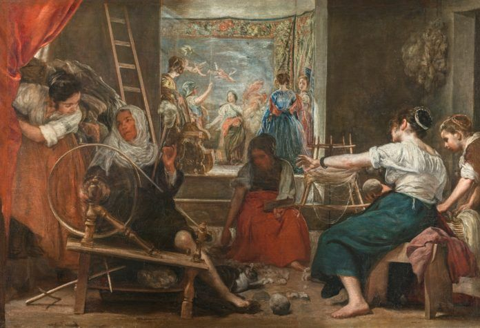 Hilanderas de Velázquez