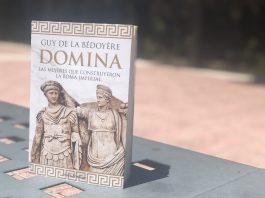 """Portada """"Domina"""" de Guy de la Bèdóyere"""