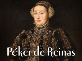 """Portada de """"Póker de Reinas"""""""