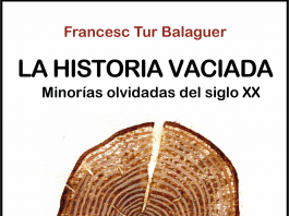 """Portada de """"La historia vaciada"""", de Françesc Tur Balaguer"""