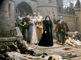 Matanza de San Bartolomé (1880) Edouard Debat-Ponsan