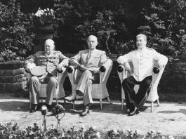 Postdam Conference in 1945