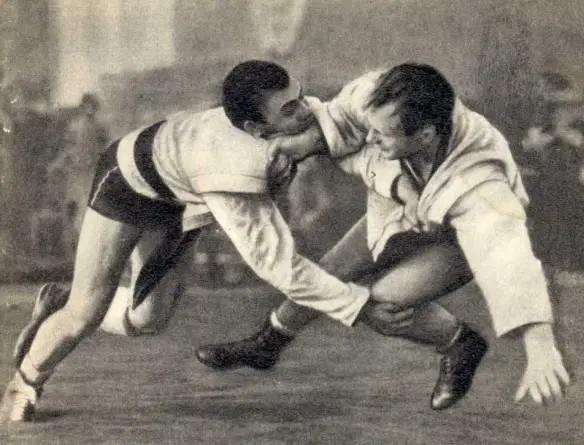 El Sambo es un estilo de lucha relativamente nuevo