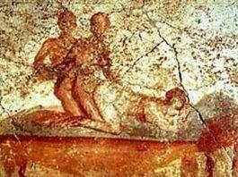 La prostitución en los baños de Pompeya